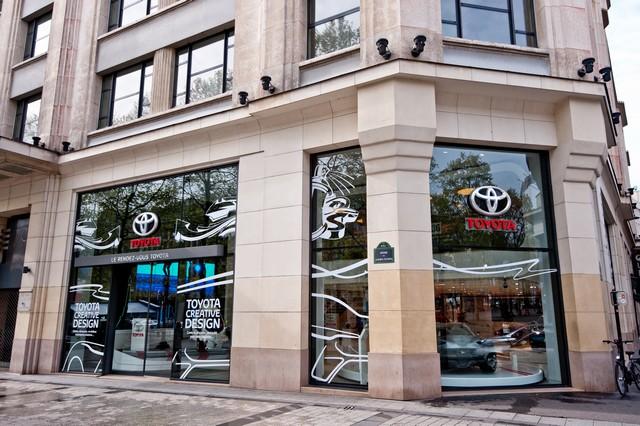 """Le """"Creative Design"""" À L'honneur Au Rendez-Vous Toyota 397227OSO9046"""