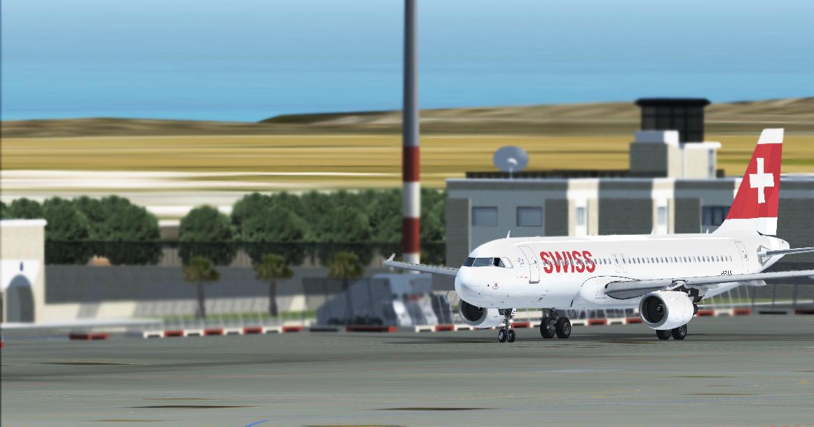 [IVAO] A320 SWISS - LMML 398098A320Maltataxiing