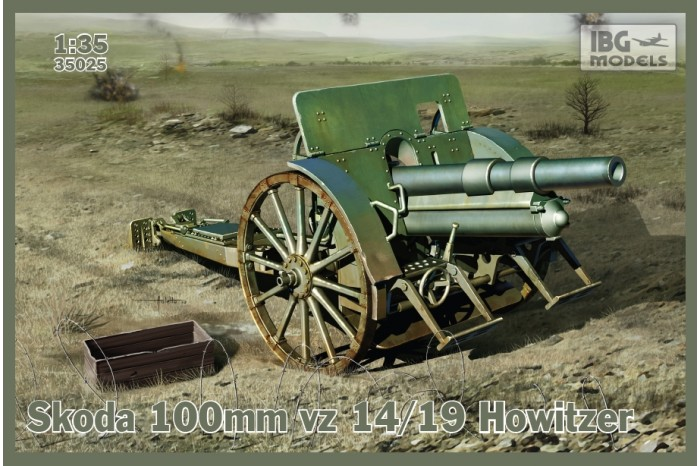 SKODA 100mm vz 14/19 Howitzer   (IBG 1/35) 398986skoda100mmvz1419howitzeroptionalmetalbarrelincluded