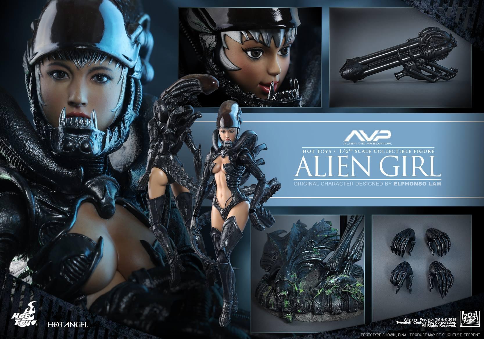 HOT TOYS - AVP - Alien Girl 398993120