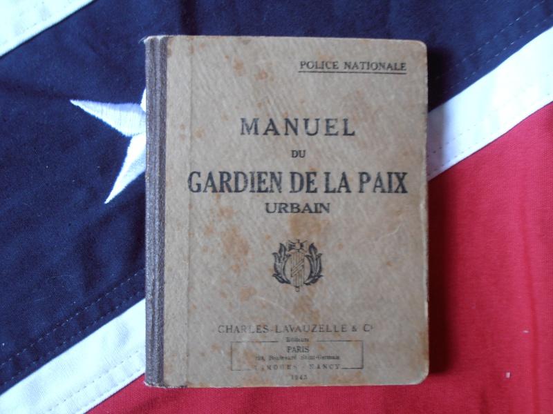 Manuel du Gardien de la Paix 1943 400476P9060026