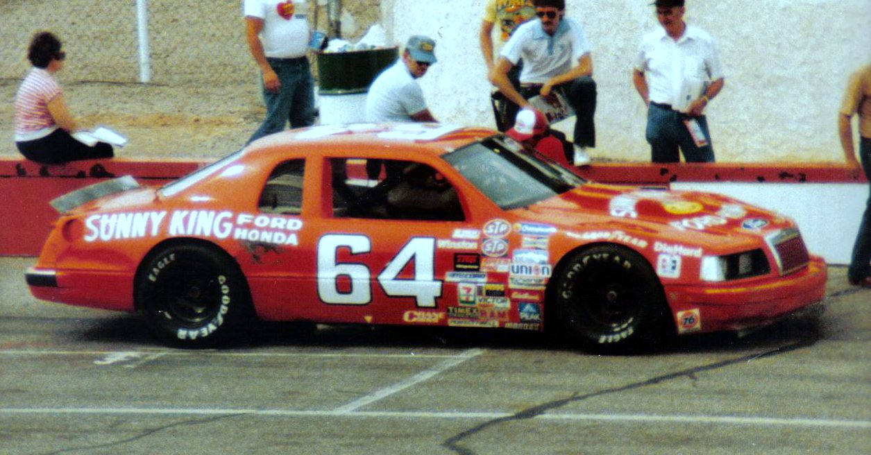 Ford T-Bird 1983-86 #64 Sunny King Ford Honda Tommy Gale 400537galetommy01