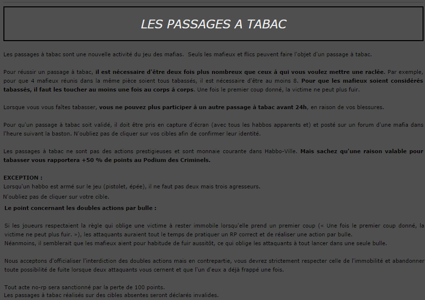Le Role Play d'Interpol 400649Passagetabac