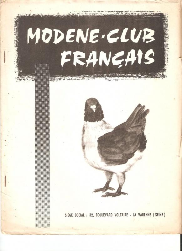 Souvenir Souvenir... 401161BulletinMCF1966