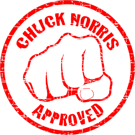chuck norris 402404ChuckNorrisApproved