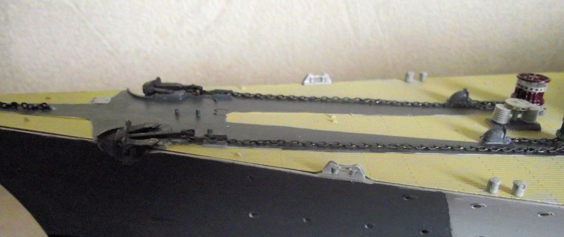 Bismarck au 1/200 Trumpetter  - Page 6 403747DSCF0826