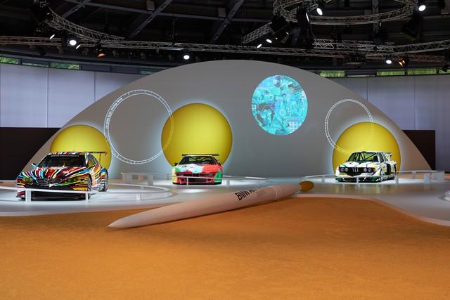 BMW célèbre ses 40 ans de BMW Art Cars 403797P90185162
