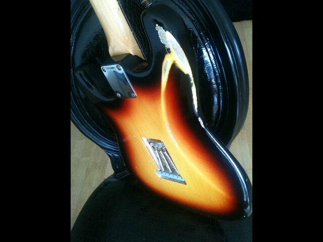 Fender Custom Shop Stratocaster 60' relic 405035Stratcorpsdos