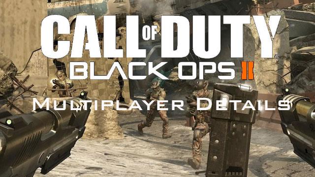 Call Of Duty Black Ops 2 : les infos multijoueurs 406158CODMP