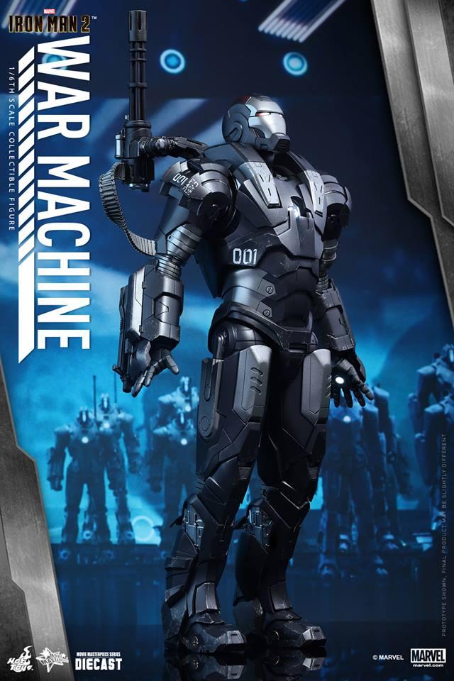 HOT TOYS - Iron Man 2 - War Machine Diecast 407000106