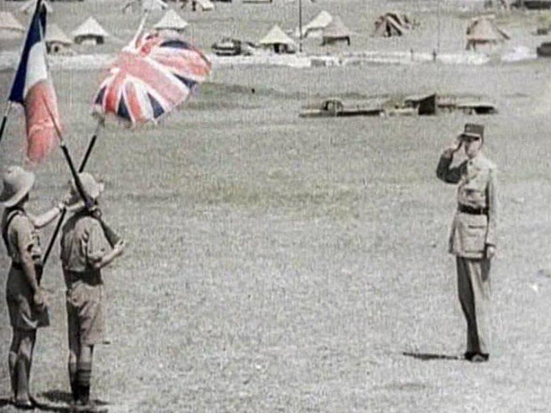 Le 1° Bataillon d'Infanterie de Marine, les marsouins FFL 40710226988248382