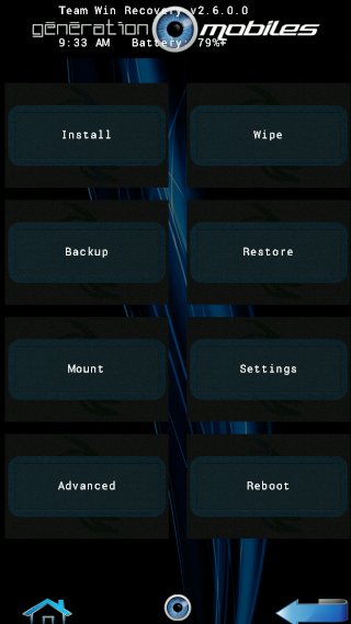 [THEME][TWRP] Thèmes custom pour TWRP Recovery [720x1280][21.09.2013] 407721screen21