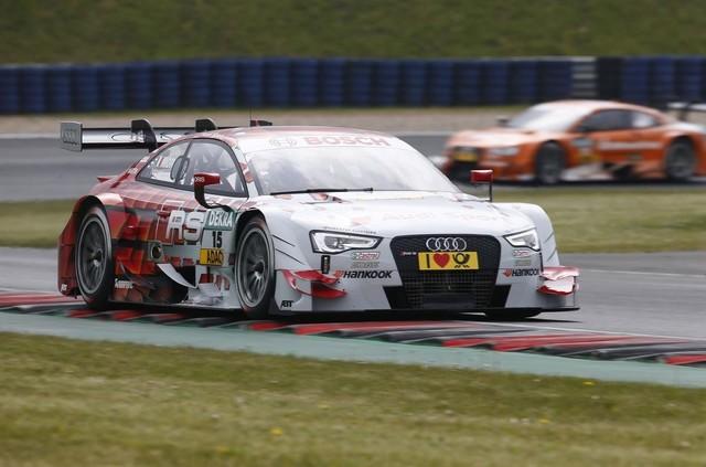 Audi prend la tête du DTM 408083audimotorsport1405172915