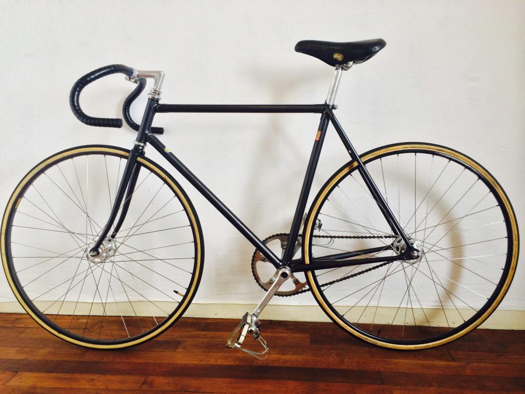 Vélo de piste Jean Marie Brun Tubes Columbus 409118image