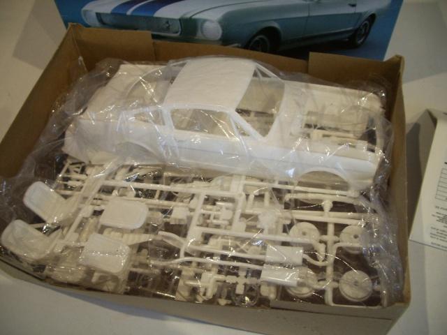 mustang shelby 350 GT 1965  kit monogram 1/24 . 409506IMGP3004