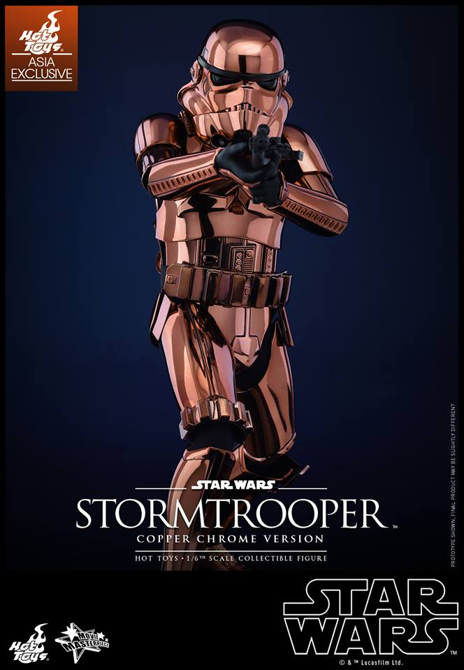 HOT TOYS - Star Wars: TFA - Stormtrooper Copper Chrome 409585108