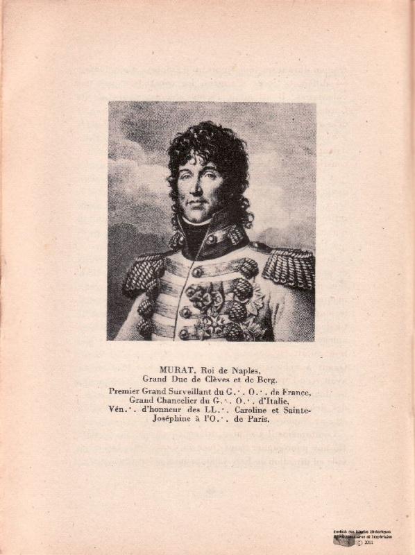 Joachim Murat : chasseur - général et Roi 410431ico1686