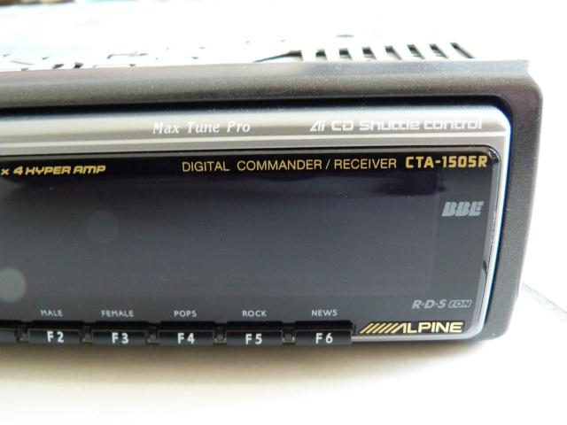 //////Alpine CTA 1505, un super tuner pour un système évolutif! 410779P1150364