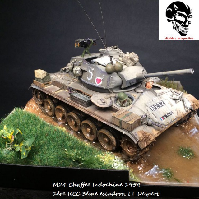 M24 Chaffee light tank, AFV Club 1/35 - Page 4 412255IMG3680