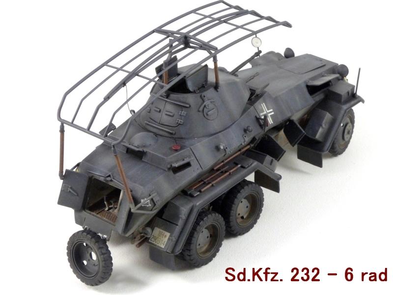 Sd.Kfz. 232 6 Rad - France 1940 - Italeri 1/35 412762P1040088