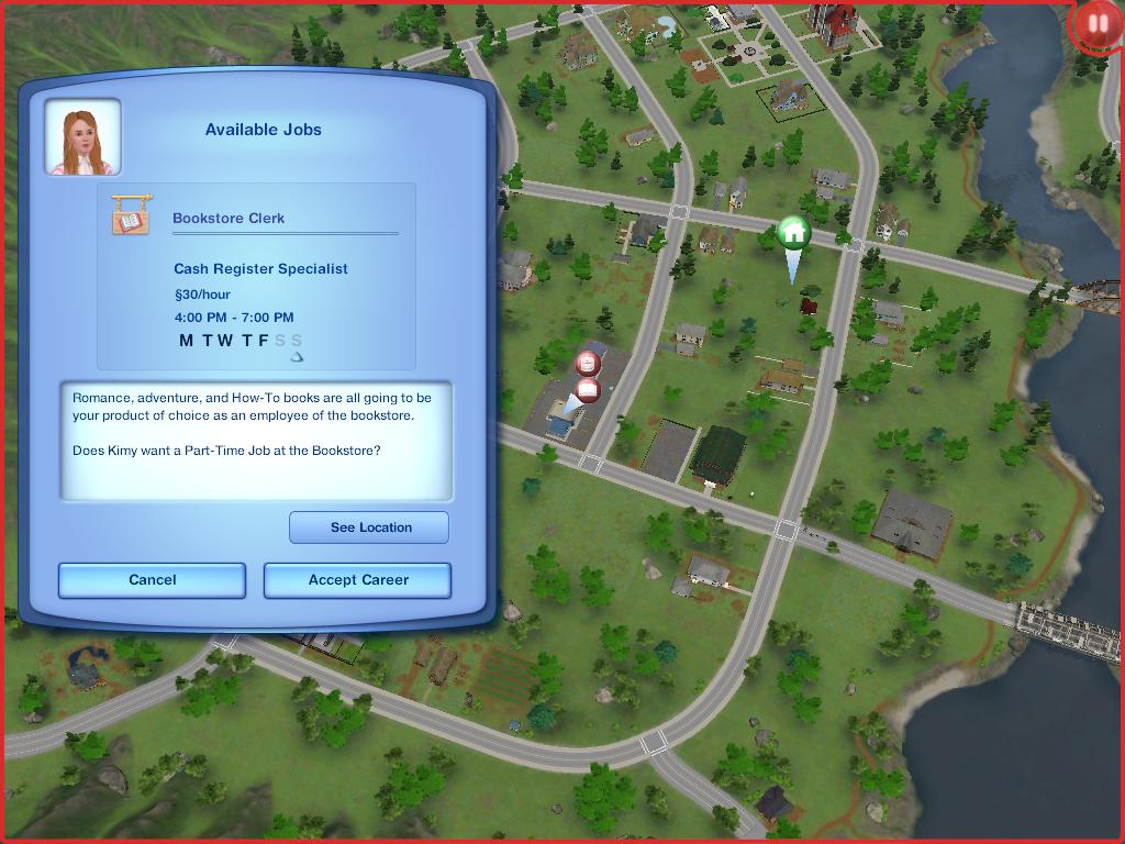 Les Sims ... Avec Kimy ! 413043KimysetrouveunboulotavantStan