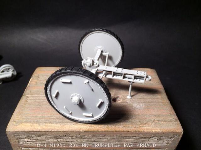 un B-4 M1931 203 mn (le marteau de Staline trumpeter 1/35 413446B4011