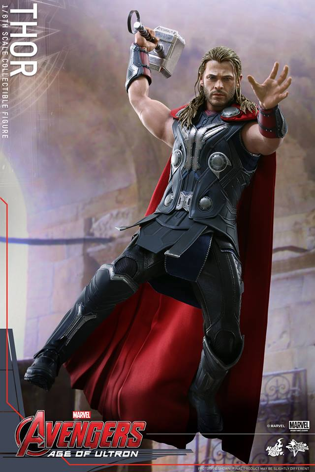 HOT TOYS - Avengers: Age of Ultron - Thor 413905101