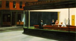 Couvertures d'Edward Hopper ! 41446505aNighthawks