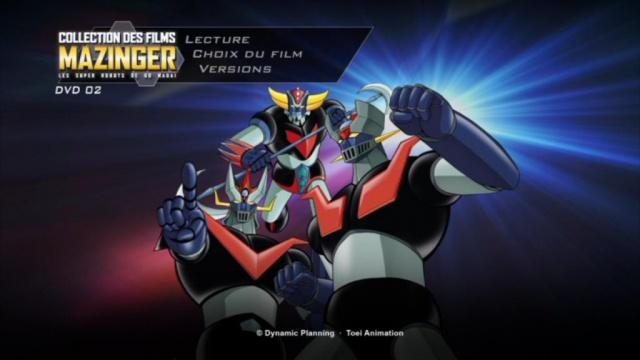 Collection des films Mazinger : les super-robots de Gô Nagaï. 414860PDVD000