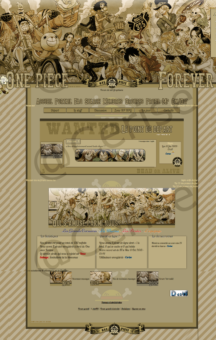 Les thèmes et crédits de OPF. 417003apercu