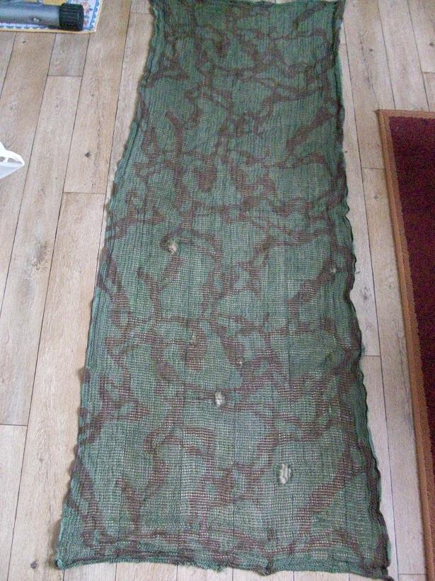 Identification casquette bigeard et filet de camouflage. 4171391002801