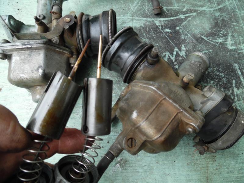 service :  passage carburateur aux ultra sons 417858SAM1762