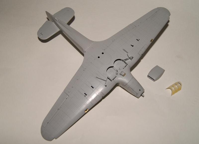 Hawker Hurricane IIC italeri 1/48 418319Hurricane21