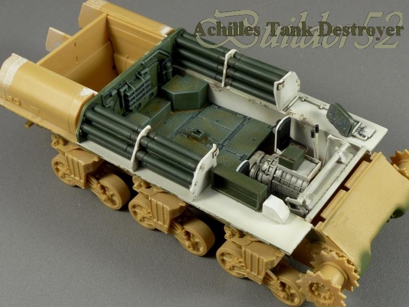 Achilles Tank Destroyer - Academy-Italeri + RB Model + set Blast 1/35 419123P1030802