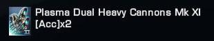 Armes - Armes et Équipements Spatiaux Précieux Récupérables en Épisodes 419224PlasmaDualHeavyCannonsMkXIAccx2