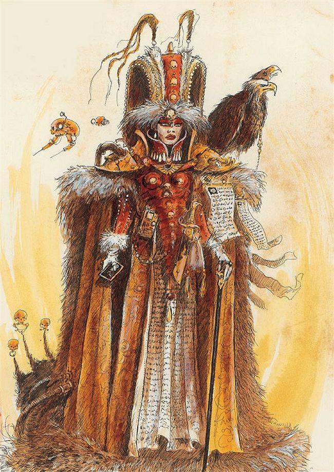 La Volonté de l'Empereur de John Blanche (Art Book) - Page 2 420012EmperorsWillpage3