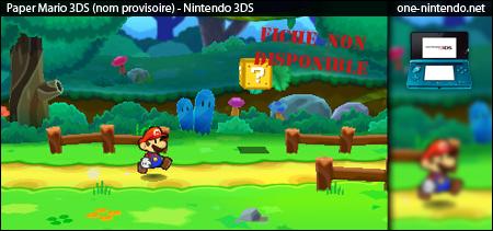 Paper Mario 3DS | 3DS 420170papermario3ds