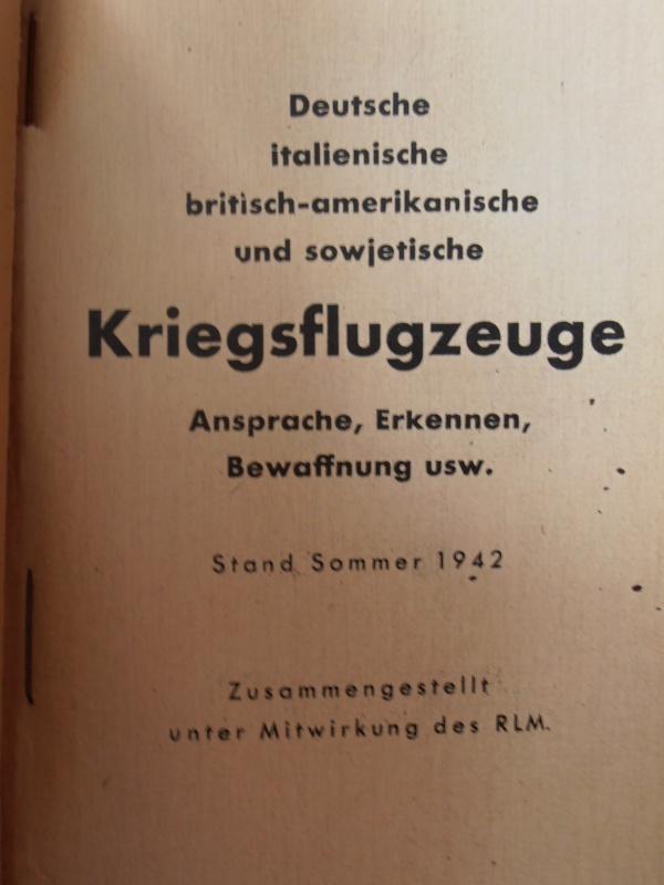 Livret Allemand Luftwaffe 420370P9060018