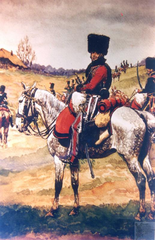 Les chasseurs à cheval de la Garde 420475CCGI21