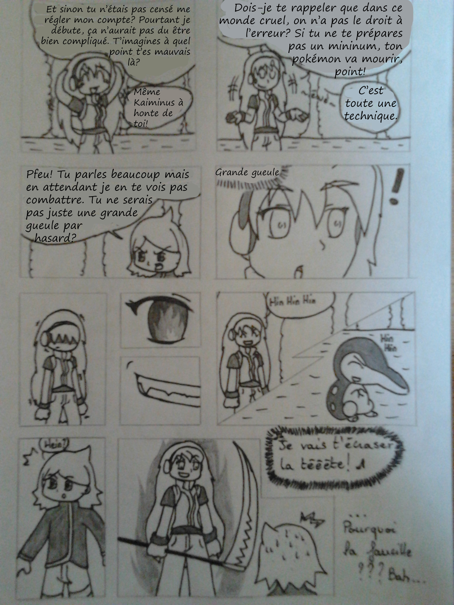 [BD] Mon Nuzlocke Challenge en BD :p 42066720130406175749