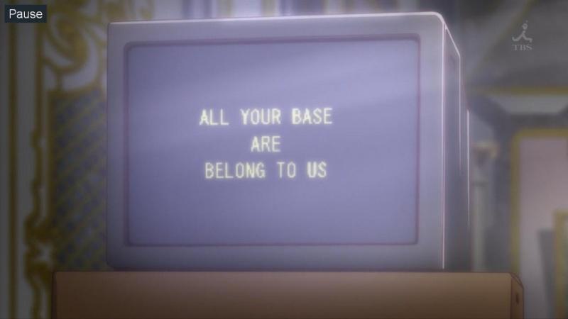 [2.0] Caméos et clins d'oeil dans les anime et mangas!  - Page 7 421174DeadFishOutbreakCompany08720pAACmp4snapshot203420131130143905