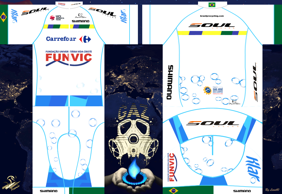Carrefour Funvic Cycling Team 422101maillot