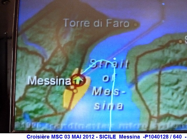 MSC Splendida Du 28 avril au 5 mai 2012 Gêne Barcelone Tunis La valette Taormine Messine Rome 422524P1040128