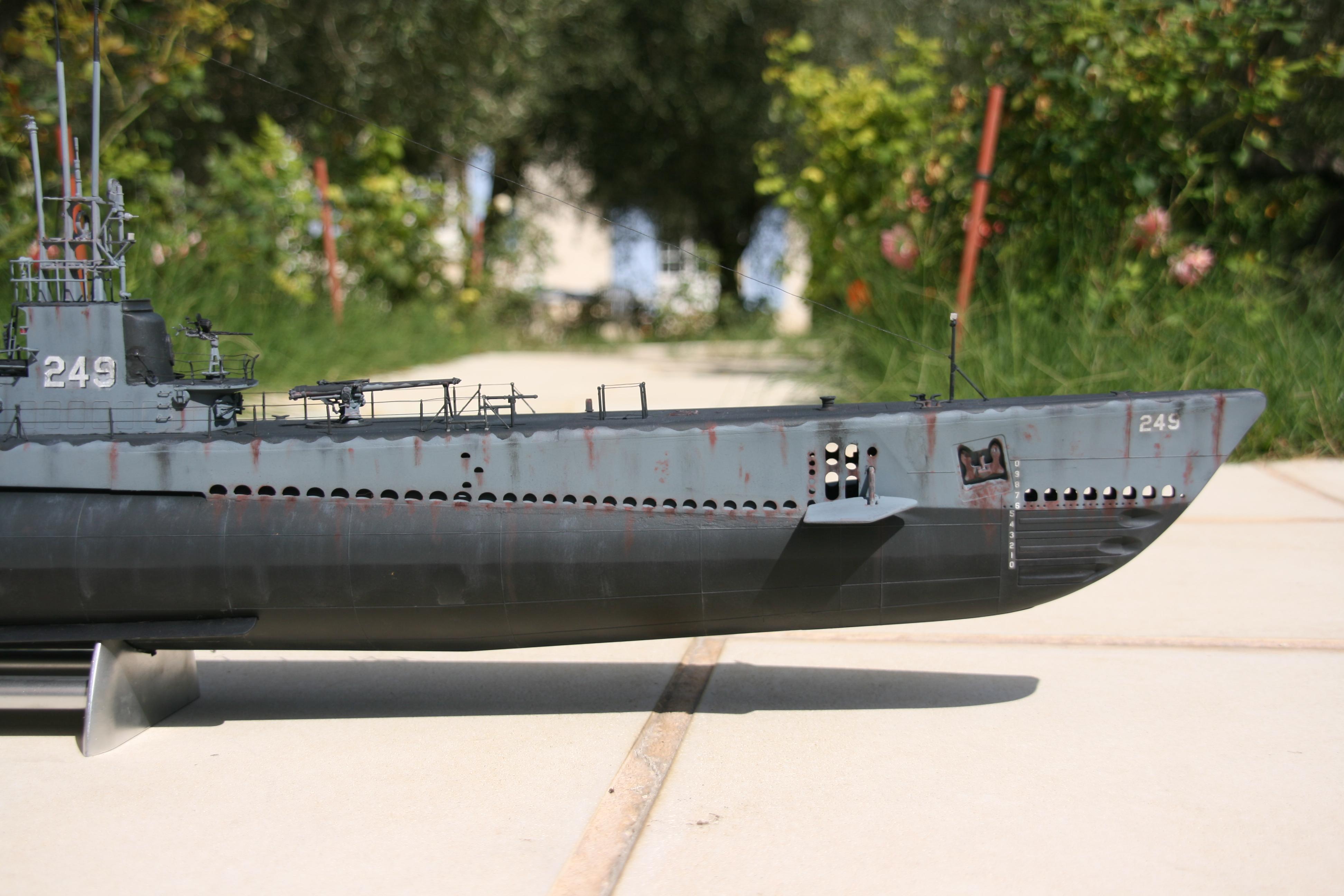 USS FLASHER, Classe Gato, 1/72° 423401IMG7859