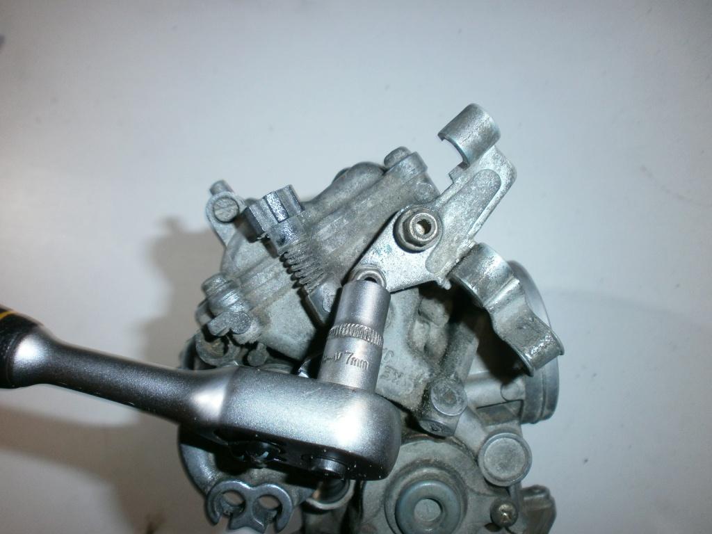 Nettoyage carburateurs de transalp 600 424092P1270008
