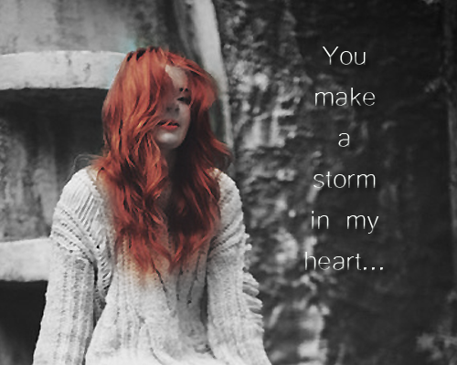 You make a storm in my heart... (PV Faustine ♥) 425910Graph