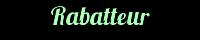 HybrideM - Rabatteur