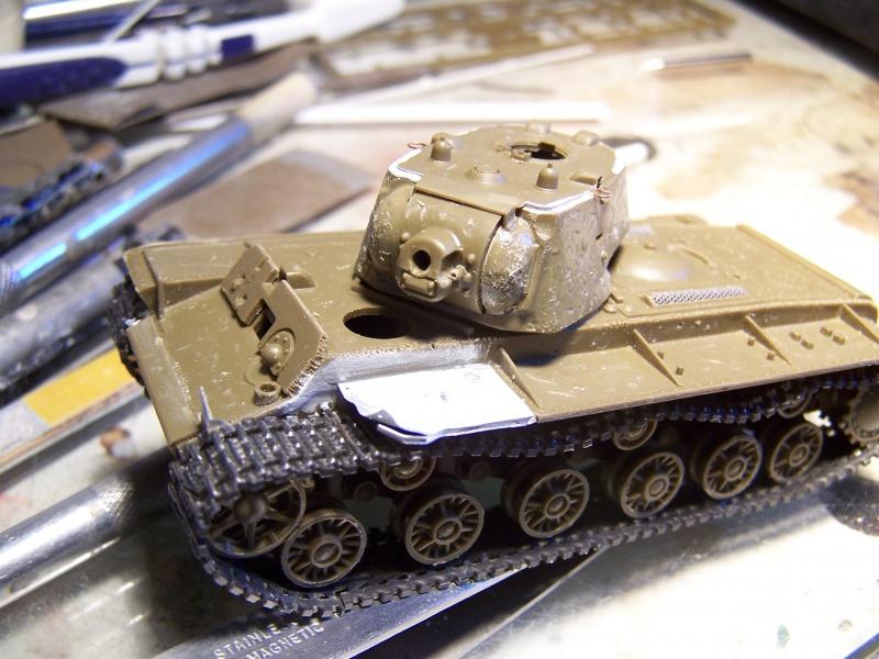 """""""Le duel"""" KV1c vs Panzergrenadiere Russie 1942 (terminé) 4271141005480"""