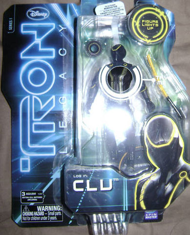 "TRON LEGACY fig 3""3/4 427264Clu_Tron_Legacy_toy_action_figure"