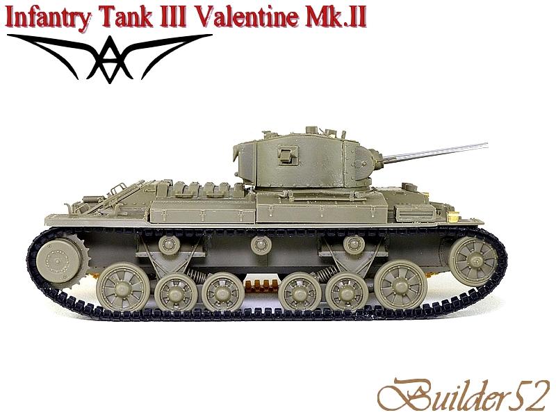Infantry Tank III Valentine Mk.II - AFV CLUB 1/35 427305P1050407